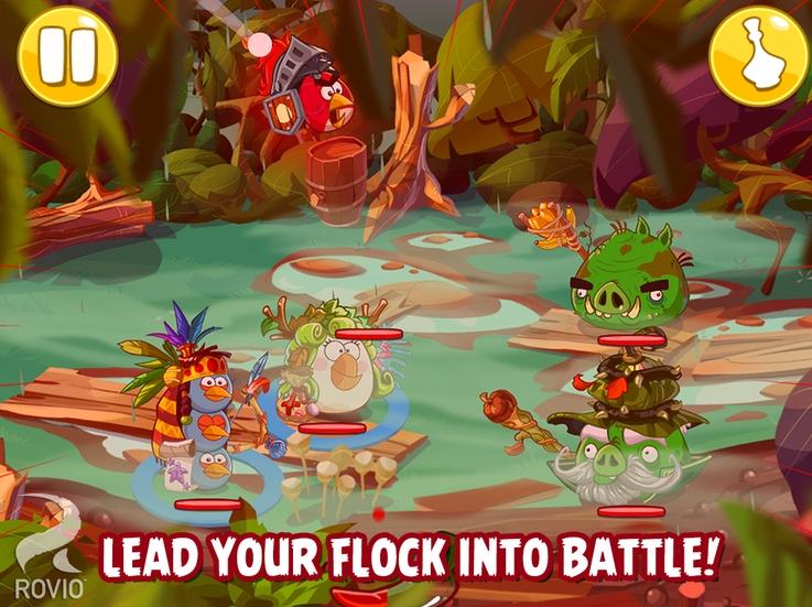 Noul titlu RPG Angry Birds Epic disponibil acum pentru Android, iOS și Windows Phone