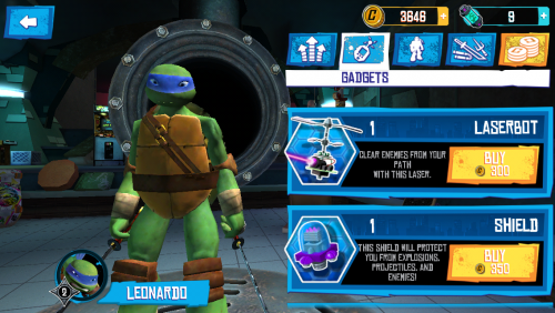 Teenage Mutant Ninja Turtles Rooftop Run Review (iPhone 5): Încă un endless runner, de această dată cu țestoase ninja și 2 unghiuri de cameră (Video)