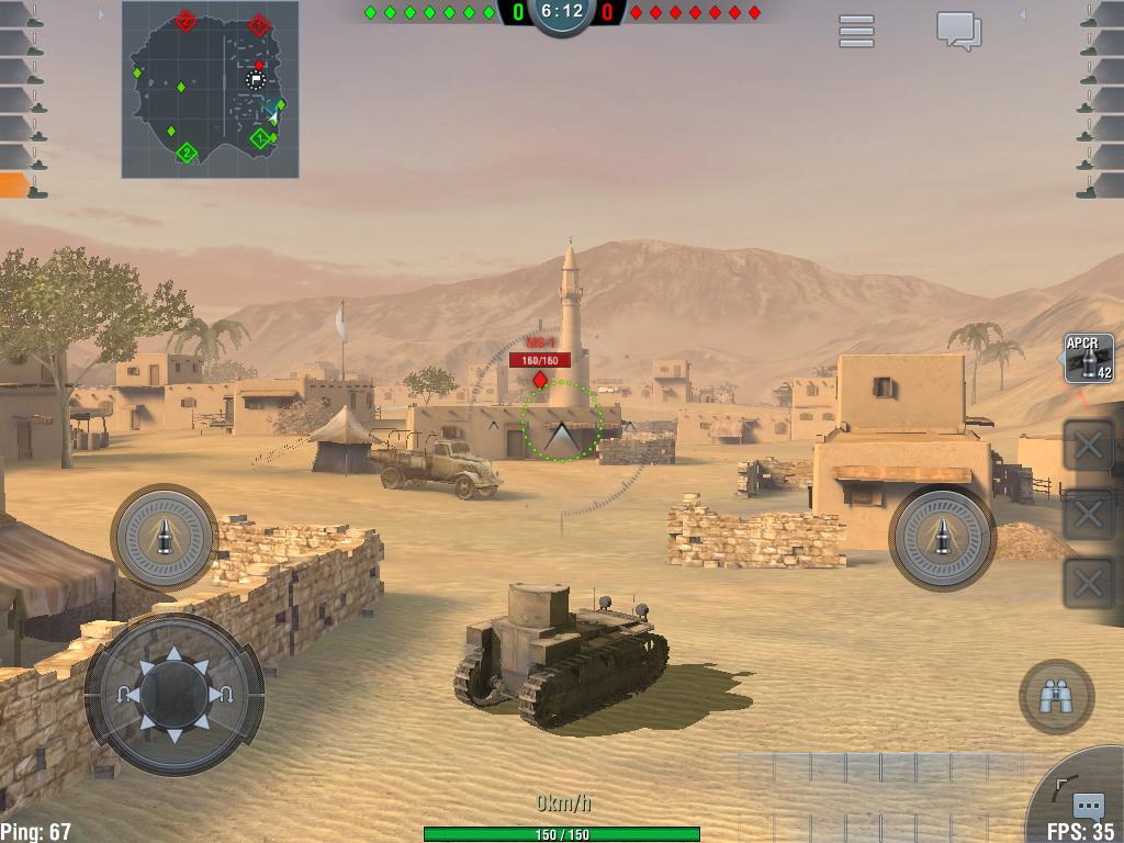World of Tanks Blitz Review (iPad Mini)