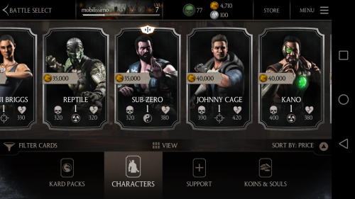 Mortal Kombat X Review (Huawei P8)