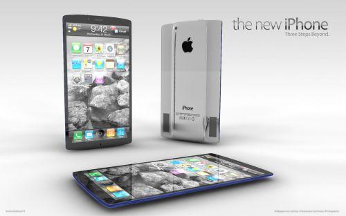 Noul iPhone 2012 ar putea arăta așa: fără SIM, cu LTE, cu 3 display-uri Retina! (Concept)