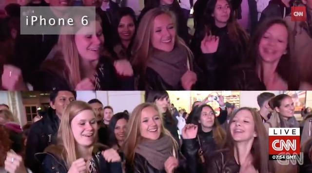 Un cameraman CNN pune la bătaie un iPhone 6 contra camerei sale profesioniste; Iată ce a ieșit! (Video)