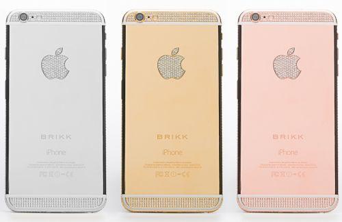 Brikk anunță lansarea unor ediții de lux pentru iPhone 6 și iPhone 6 Plus; acestea aduc diamante și aur de 24K