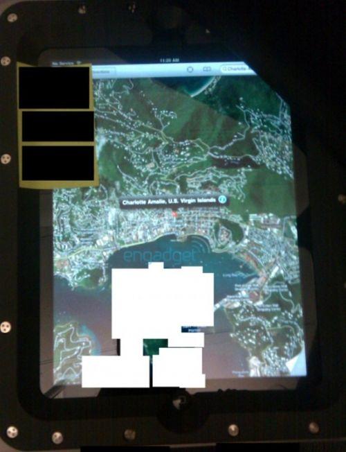 Noi imagini cu tabletul Apple, de aceasta data in mod navigational