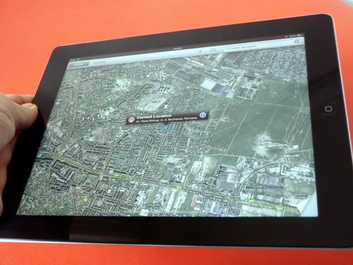 Maps pe iPad