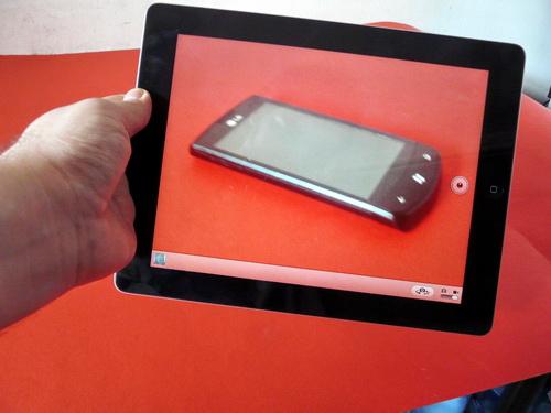 Noul iPad, camera