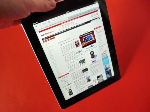 Browserul lui Apple iPad 3