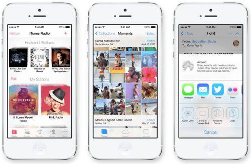 iOS 7 UI - Galerie