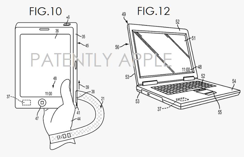 Un nou brevet Apple oferă indicii cu privire la o curea de Apple Watch ce poate avea şi rol de display