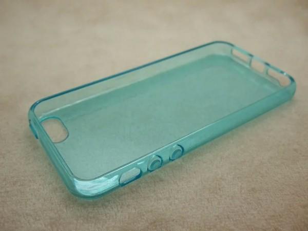 Husele lui iPhone 5SE fotografiate în 2 variante de culoare; Butoanele rotunjite de volum confirmate