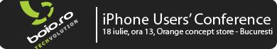 iPhone Users' Conference Romania: impatimitii iPhone-ului se intrunesc pe 18 iulie