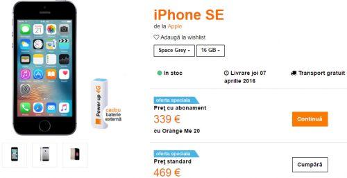 Iată de unde poți cumpăra smartphone-ul iPhone SE la cel mai bun preț din România