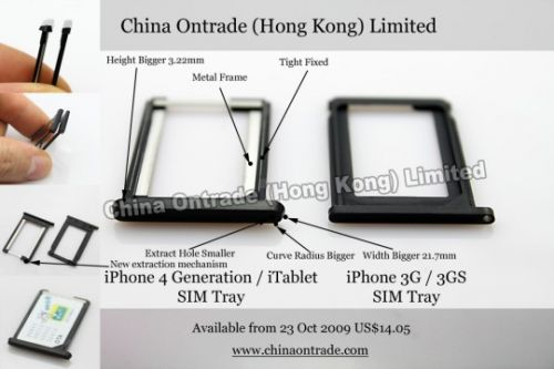 Apple Tablet SIM Tray