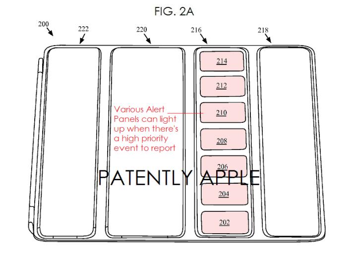 Apple depune un brevet pentru un cover iPad inteligent ce va afișa notificările sub fie printr-o fereastră transparentă, fie printr-un sistem de iluminare cu LED-uri