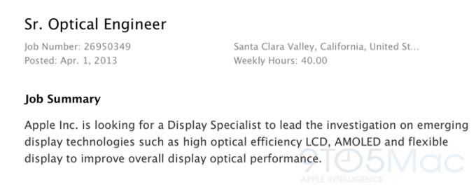 iPhone cu ecran flexibil? Apple lucrează la asta, conform unei oferte de job