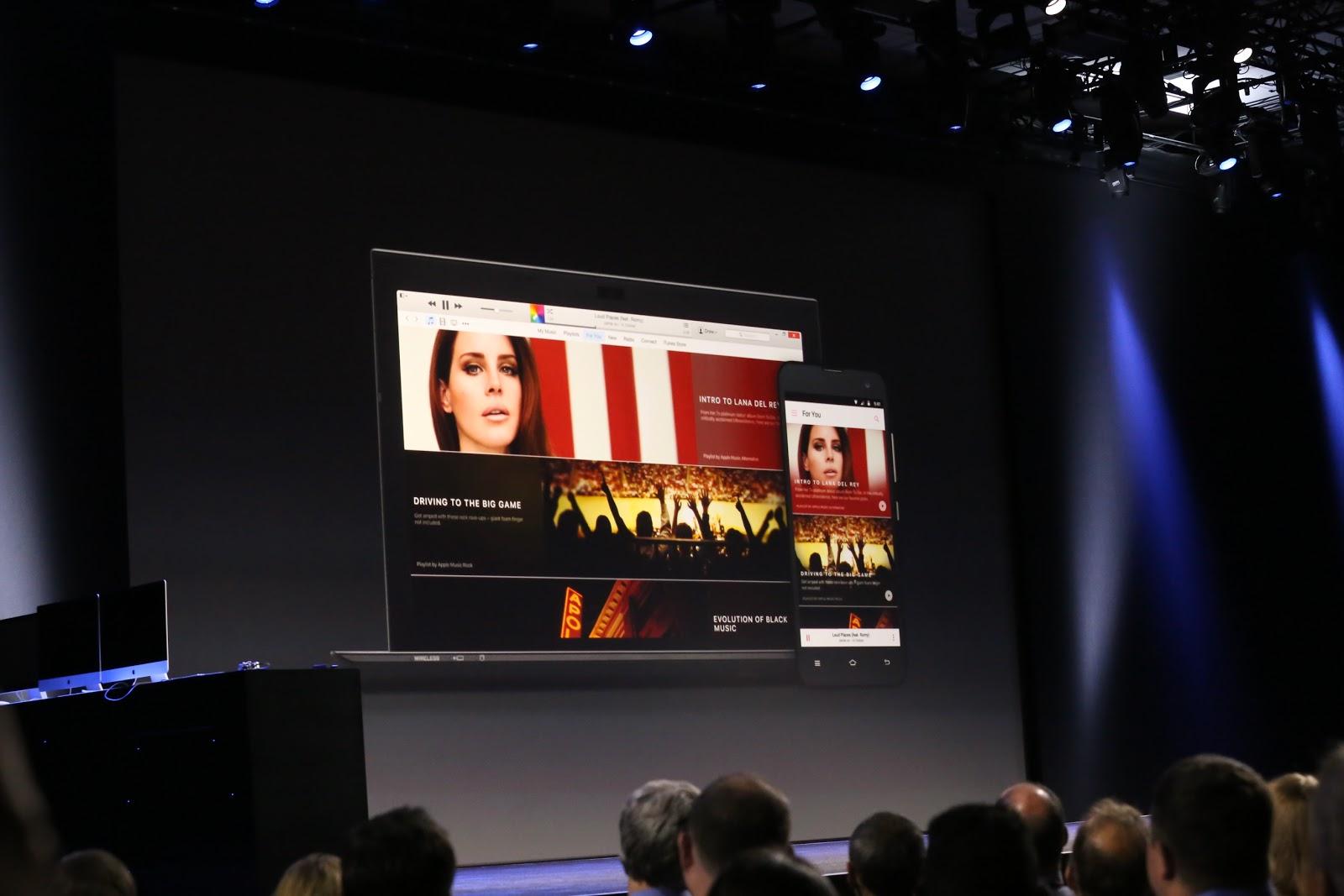 Apple Music anunţat oficial