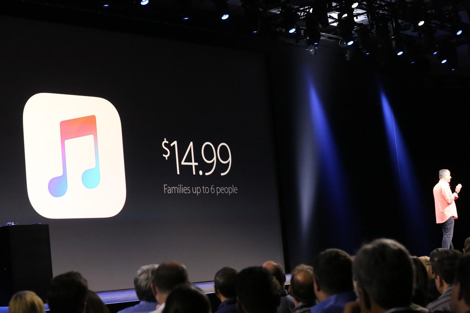 WWDC 2015: Apple Music anunţat oficial, care combină streamingul, socializarea şi radio-ul la preţul de 10 dolari pe lună