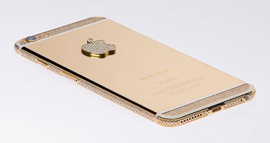 Brikk anunu021bu0103 lansarea unor ediu021bii de lux pentru iPhone 6 u0219i iPhone ...