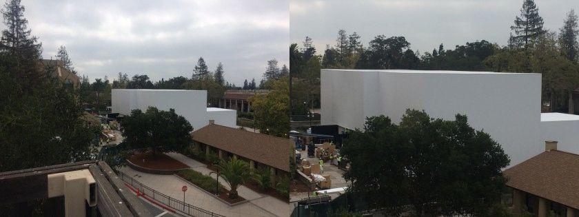 Apple construiește o uriașă scenă specială pentru evenimentul de lansare a lui iPhone 6