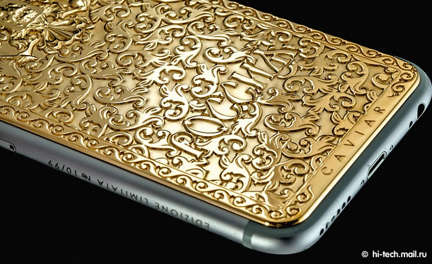 iPhone 6 primește o versiune de lux Caviar de mii de dolari: Atlante Russia vine cu un basorelief al emblemei statului