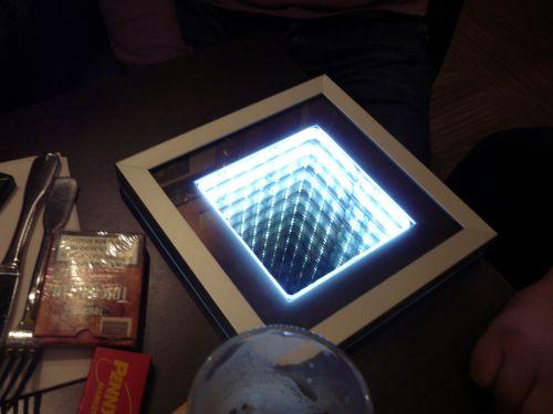 Bădița Florin, care ne-a Încântat cu o invenție a sa, un gadget cu rol de iluzie optică