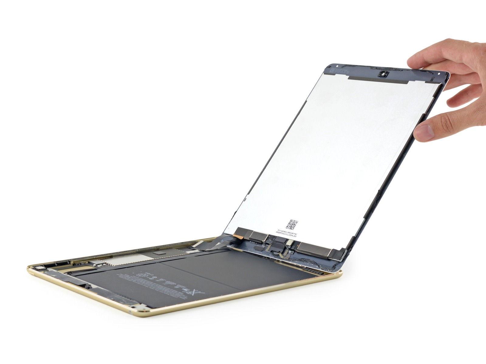 iPad Air 2 dezasamblat