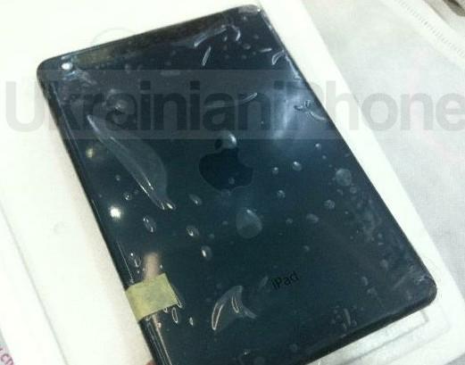iPad Mini, partea spate