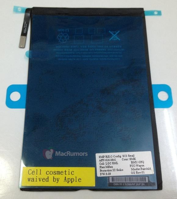 Bateria lui iPad mini