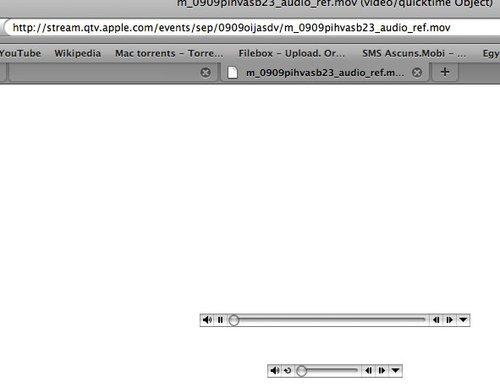 Sectiune de cod cu link invizibil pe pagina oficiala Apple! Oops?