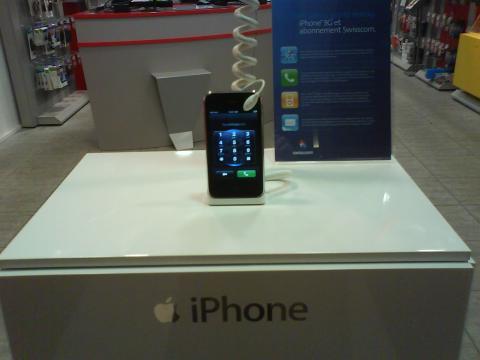 iPhone 3G in Elvetia