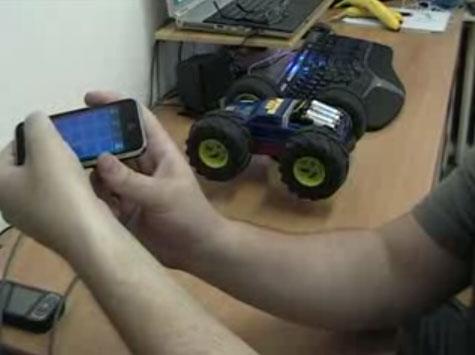 Cum sa-ti controlezi masina (teleghidata) cu ajutorul lui iPhone