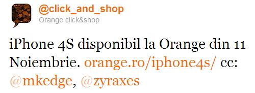 iPhone 4S la Orange