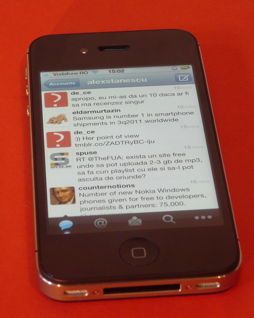 Integrare Twitter in iOS 5 - iPhone 4S