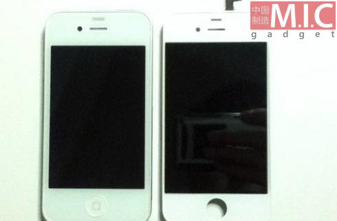 iPhone 5, surprins În varianta albă... sau doar un alt fals?