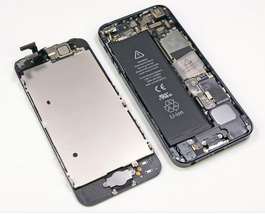 iPhone 5 la iFixit
