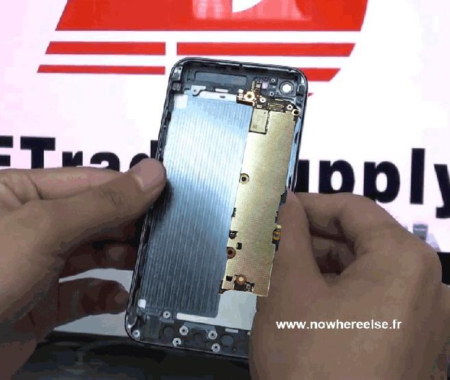 iPhone 5 primește noi antene, o nouă baterie - indicii În motherboard-ul ajuns pe web