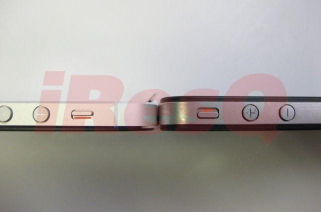 Iată cât de subțire e iPhone 5 față de iPhone 4S