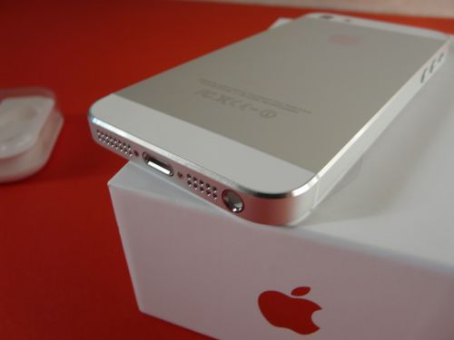iPhone 5 scos din cutie