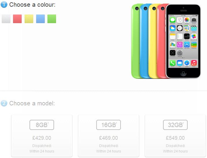 iPhone 5c disponibil acum În versiuni de 8 GB puțin mai ieftine; Apple Încearcă să scape de stoc!