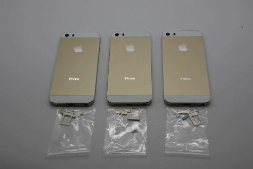 Primele imagini de Înaltă rezoluție cu iPhone 5S În culoarea auriu