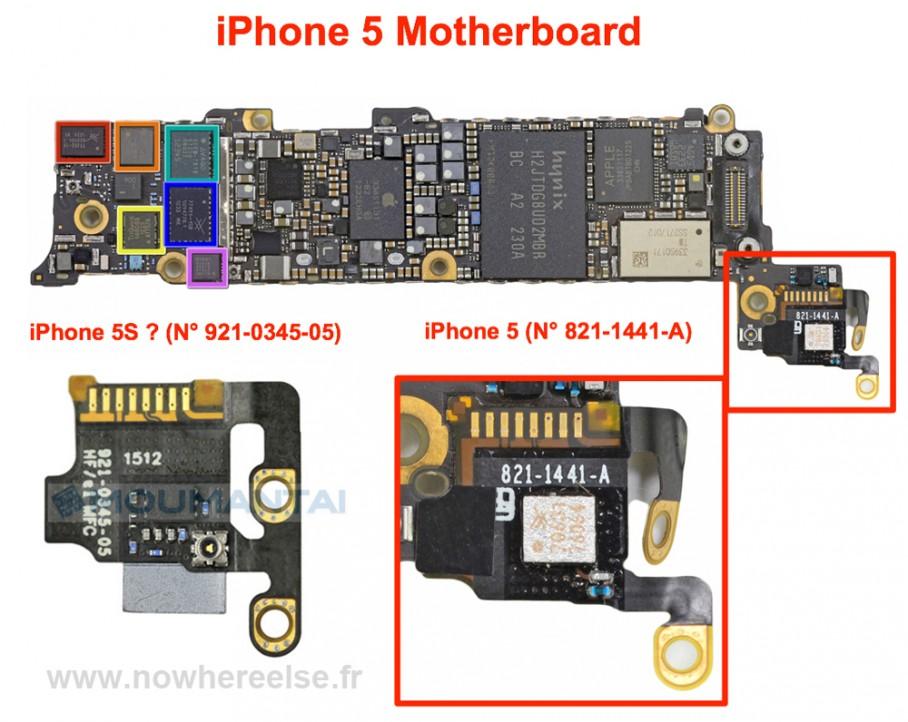 Componente de iPhone 5S
