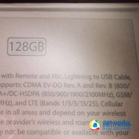 Noi imagini cu carcase de iPhone 5S Își fac apariția, Împreună cu un ambalaj care confirmă versiunea de 128 GB