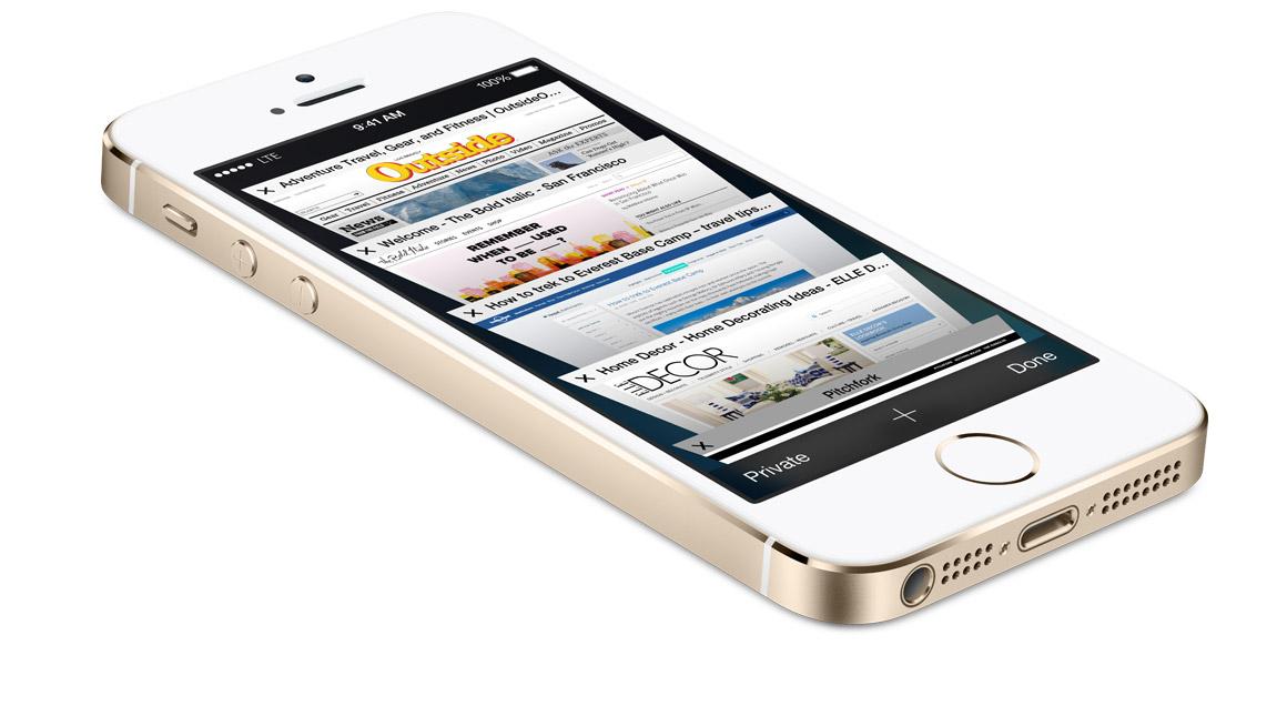 iPhone 5S anunțat oficial, primul smartphone cu procesor 64 bit vine cu cameră cu bliț dual LED, senzor pentru amprente