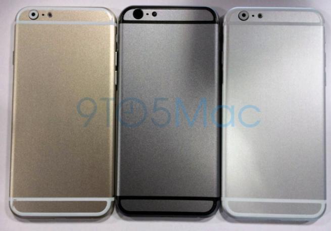 iPhone 6 fotografiat sub formă de machetă, În varianta de culoare aurie