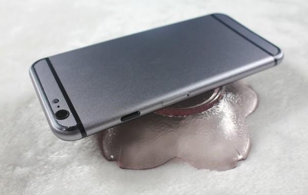 Un nou design curbat de iPhone 6 apare sub forma unei machete