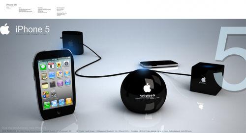iPhone 6 cu ecran holografic 3D și control optic... și un iPhone 5 tot cu ecran 3D! (Concept)