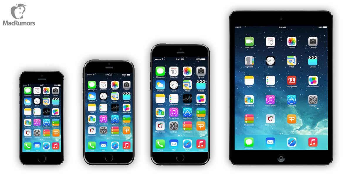 iPhone 6 primește o serie de noi randari ce par inspirate de iPad Mini