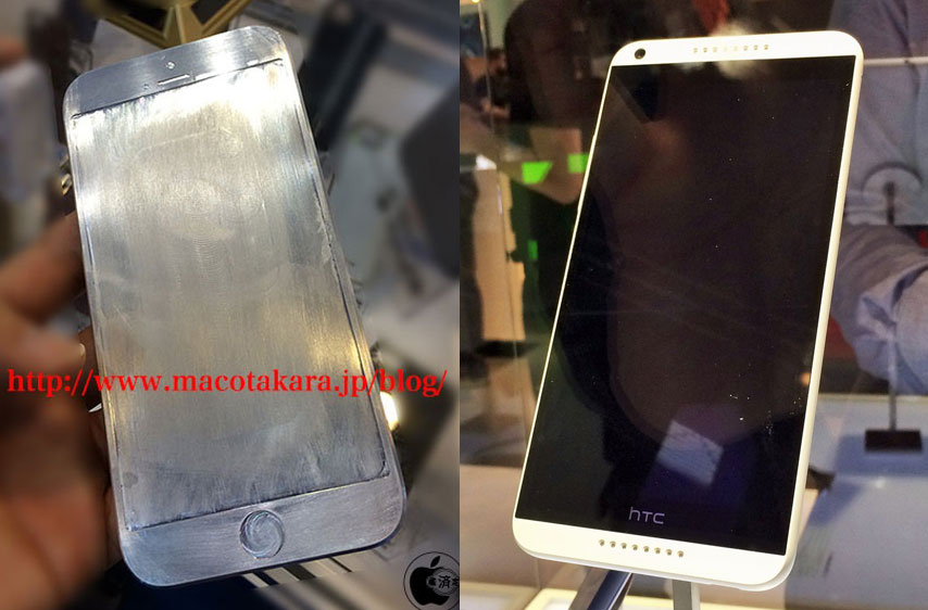 iPhone 6 versus HTC Desire 816