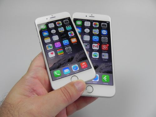 iPhone 6 comparat cu iPhone 6 Plus