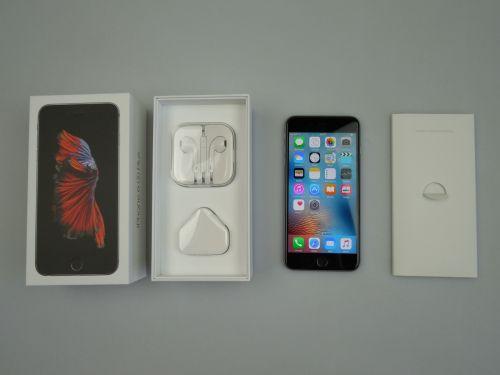 Continutul cutiei lui iPhone 6S Plus